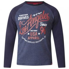 D555 Neill Long Sleeve T-shirt Navy
