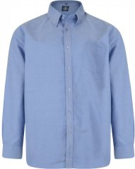 Kam Oxford shirt Long sleeve Blue