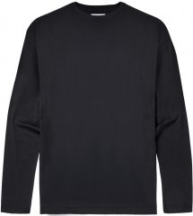 Motley Denim Long Sleeve T-shirt Black
