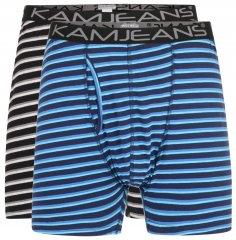 Kam Jeans Striped Boxershorts 2-Pack