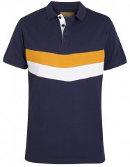 D555 Hopkins Polo Navy