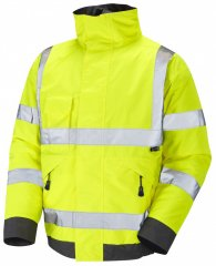 Leo Chivenor Bomber Jacket Yellow