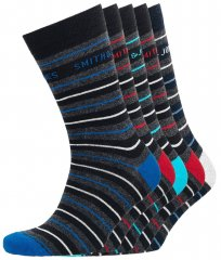 Smith & Jones Ockey 5-pack Socks (41-46)