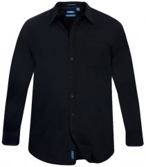 D555 Corbin Easy Iron-Shirt Black