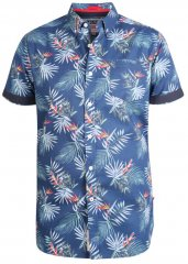 D555 Reuben Hawaii Shirt Navy