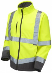 Leo Buckland Softshell Jacket Yellow