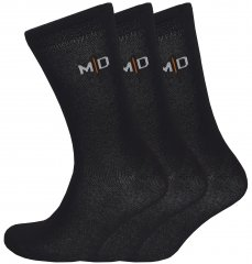 Motley Denim 3-pack Socks Black
