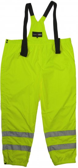 Marc & Mark Hi-Vis Work-pants Yellow - Workwear - Workwear, rain- and skiclothes - 3XL-10XL