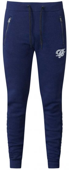 D555 Javier Fashion Sweatpants Navy - Sweatpants & Shorts - Sweat pants & Sweat shorts 2XL-8XL