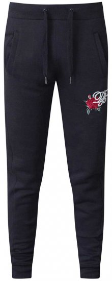 D555 Matt Fashion Sweatpants Black - Sweatpants & Shorts - Sweat pants & Sweat shorts 2XL-8XL