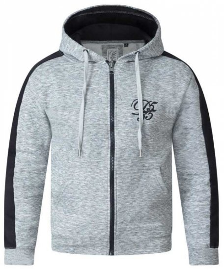 D555 Ronnie Full zip Hoodie - Sweaters & Hoodies - Sweatshirts & Hoodies - 2XL-8XL