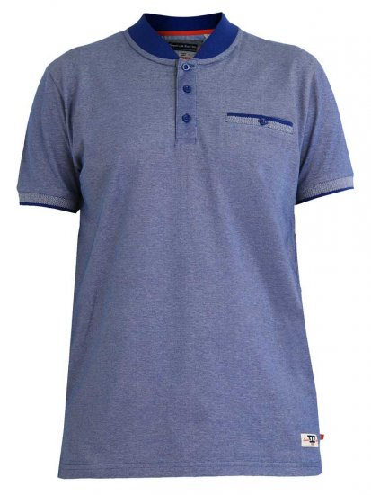 D555 Owen Colorless Polo Blue - Polo shirts - Polo shirts -2XL-8XL