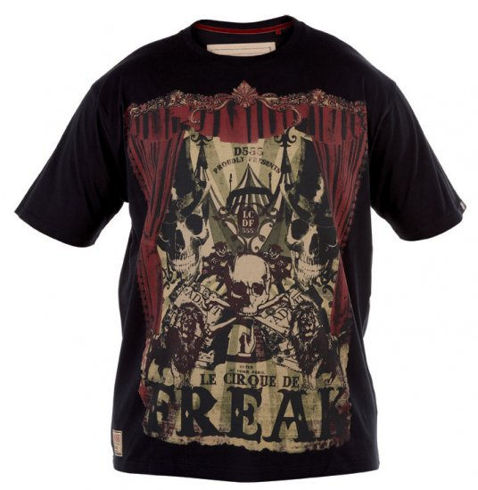 D555 Circus Freak T-shirt - T-shirts - T-shirts in big sizes - 2XL-8XL