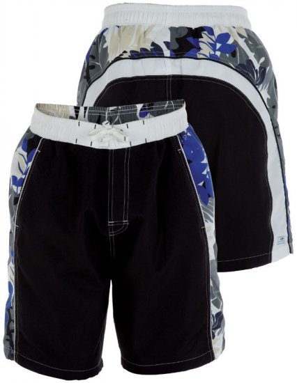 Duke Swim Shorts Black - Underwear & Swimwear - Underwear - 2XL-8XL