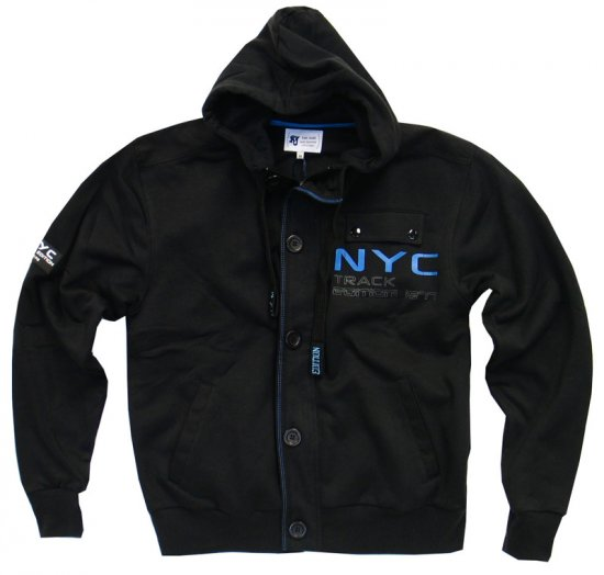 Kam NYC Track Hood - Sweaters & Hoodies - Sweatshirts & Hoodies - 2XL-8XL