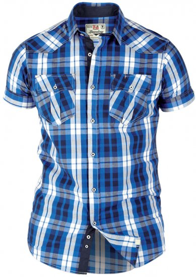 Duke Alroy Blue - Shirts - Shirts - 2XL-8XL