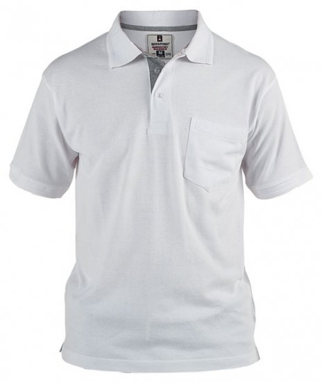 Rockford Polo White - Polo shirts - Polo shirts -2XL-8XL