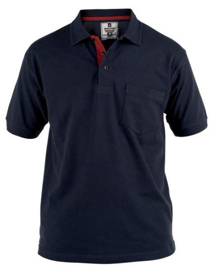 Rockford Polo Navy - Polo shirts - Polo shirts -2XL-8XL