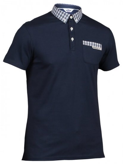 Mish Mash Scottie Navy - Polo shirts - Polo shirts -2XL-8XL
