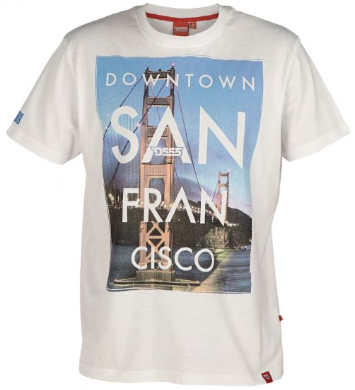 D555 Downtown T-shirt - T-shirts - T-shirts in big sizes - 2XL-8XL
