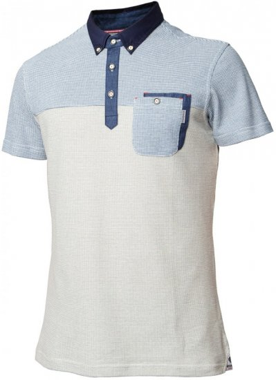 Mish Mash Muscle Grey - Polo shirts - Polo shirts -2XL-8XL