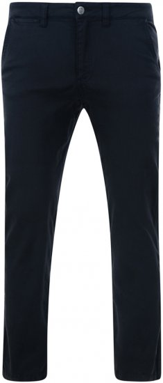 Kam Jeans Stretch Chinos Navy - Jeans & Pants - Jeans & Pants - W40-W70