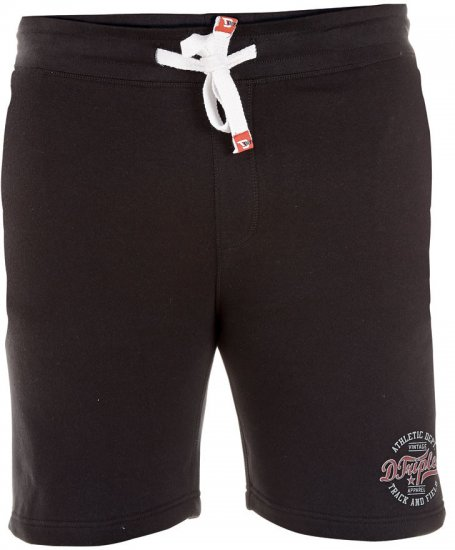 D555 Troy Black Short - Sweatpants & Shorts - Sweat pants & Sweat shorts 2XL-8XL