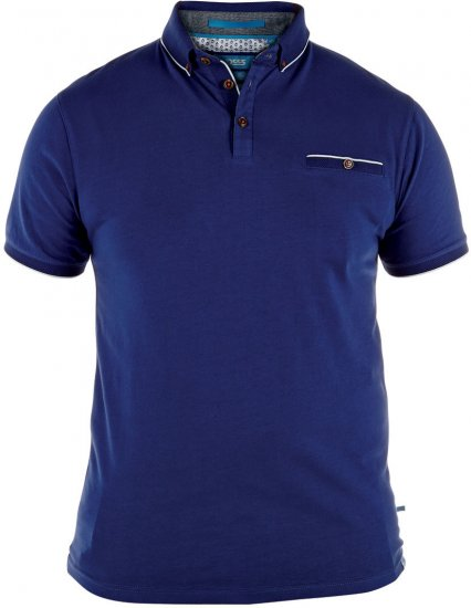 D555 Asia Polo Shirt Blue - Polo shirts - Polo shirts -2XL-8XL