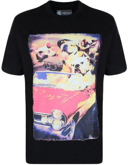 Kam Jeans Dog T-shirt - T-shirts - T-shirts in big sizes - 2XL-8XL