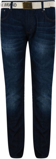 Forge George Belted Regular Jeans - Jeans & Pants - Jeans & Pants - W40-W70