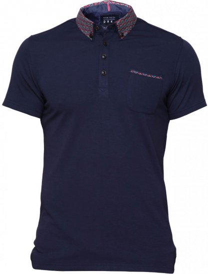 Mish Mash Thornhill Polo Navy - Polo shirts - Polo shirts -2XL-8XL