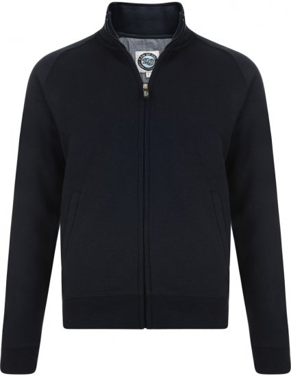 Kam Jeans Full-Zip Sweatshirt Navy - Sweaters & Hoodies - Sweatshirts & Hoodies - 2XL-8XL