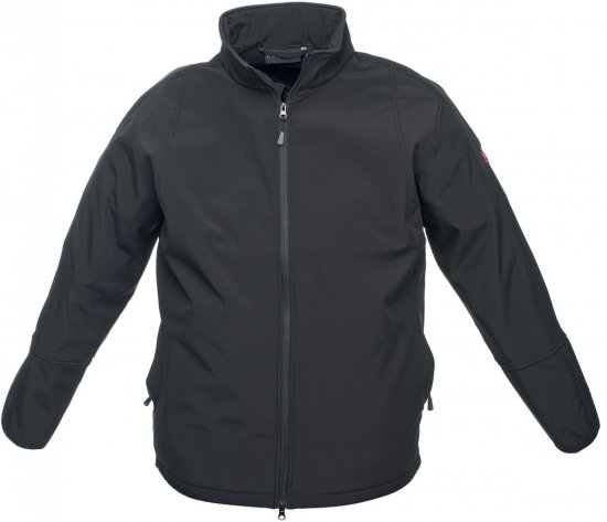 Marc & Mark Arosa Softshell-jacket Black - Jackets & Rainwear - Jackets - 2XL-8XL