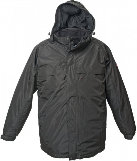 Marc & Mark 3-in-1 Lech Tech-jacket Black - Jackets & Rainwear - Jackets - 2XL-8XL