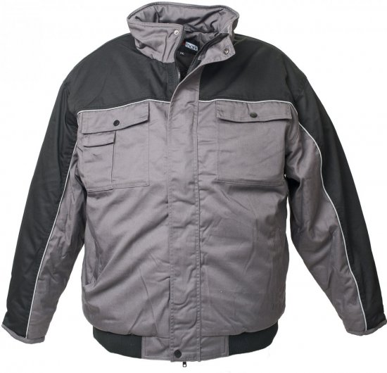 Marc & Mark Work-jacket Grey - Workwear - Workwear, rain- and skiclothes - 3XL-10XL