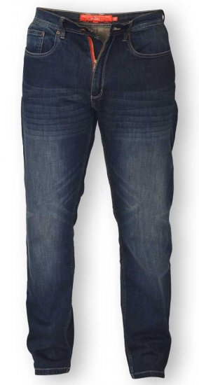 D555 BOURNE Tapered Dark Vintage Stretch Jeans - Jeans & Pants - Jeans & Pants - W40-W70