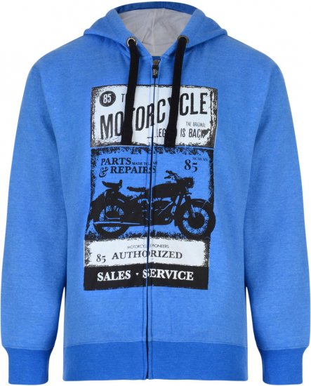 Kam Jeans 790 Motorcycle Hoodie - Sweaters & Hoodies - Sweatshirts & Hoodies - 2XL-8XL