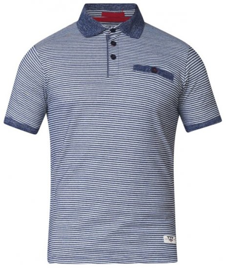 D555 Tyrone Polo Blue - Polo shirts - Polo shirts -2XL-8XL
