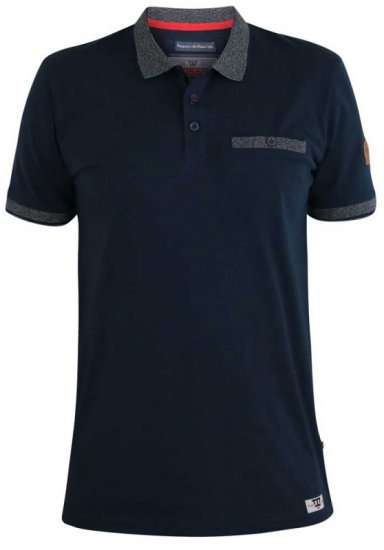 D555 Walker Polo Navy - Polo shirts - Polo shirts -2XL-8XL