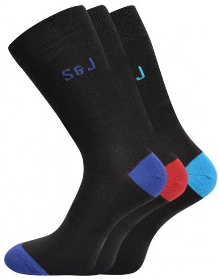 Smith & Jones Blear 3-pack Socks (46-49) - Underwear & Swimwear - Underwear - 2XL-8XL