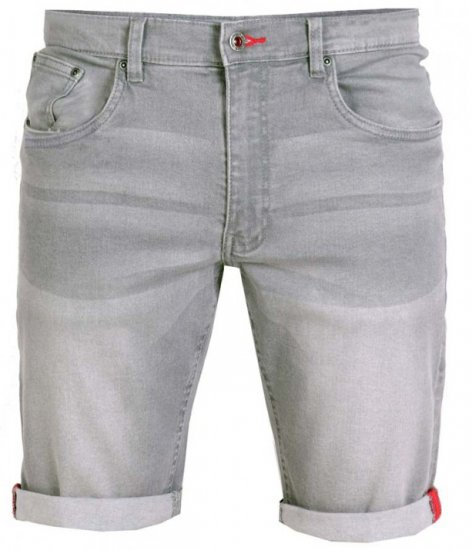 D555 Griffin Denim Shorts Grey - Shorts - Shorts W40-W60