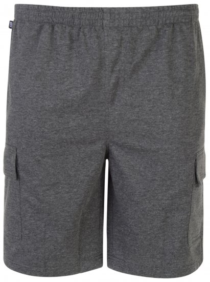 Kam Jeans Cargo Jogger shorts Grey - Sweatpants & Shorts - Sweat pants & Sweat shorts 2XL-8XL