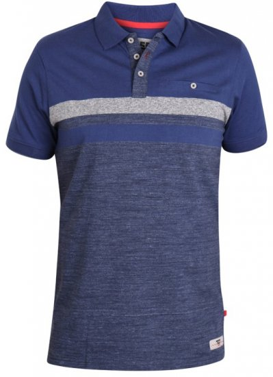 D555 Lawson Polo Navy - Polo shirts - Polo shirts -2XL-8XL