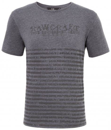 Rawcraft Reeder T-shirt Charcoal - T-shirts - T-shirts in big sizes - 2XL-8XL